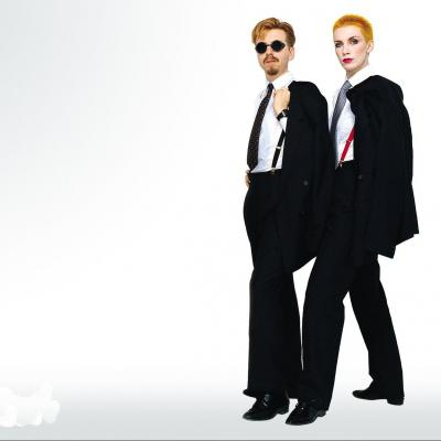 Eurythmics en concert à L'Olympia à Paris