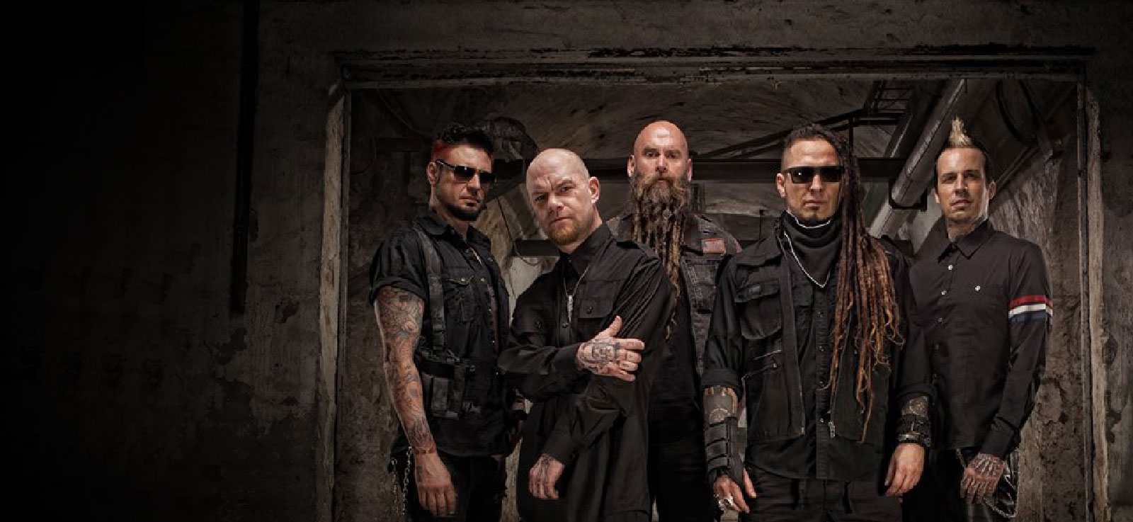 Five Finger Death Punch en concert à L'Olympia à Paris