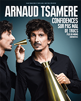 Arnaud Tsamere spectacle humour à l'Olympia