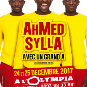 Ahmed Sylla en spectacle à L'Olympia à Paris