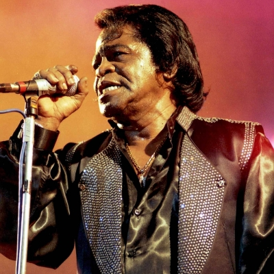 James Brown en concert à L'Olympia à Paris