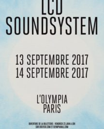 LCD sound system en concert à l'Olympia