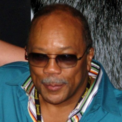quincy jones en concert à l'Olympia Paris