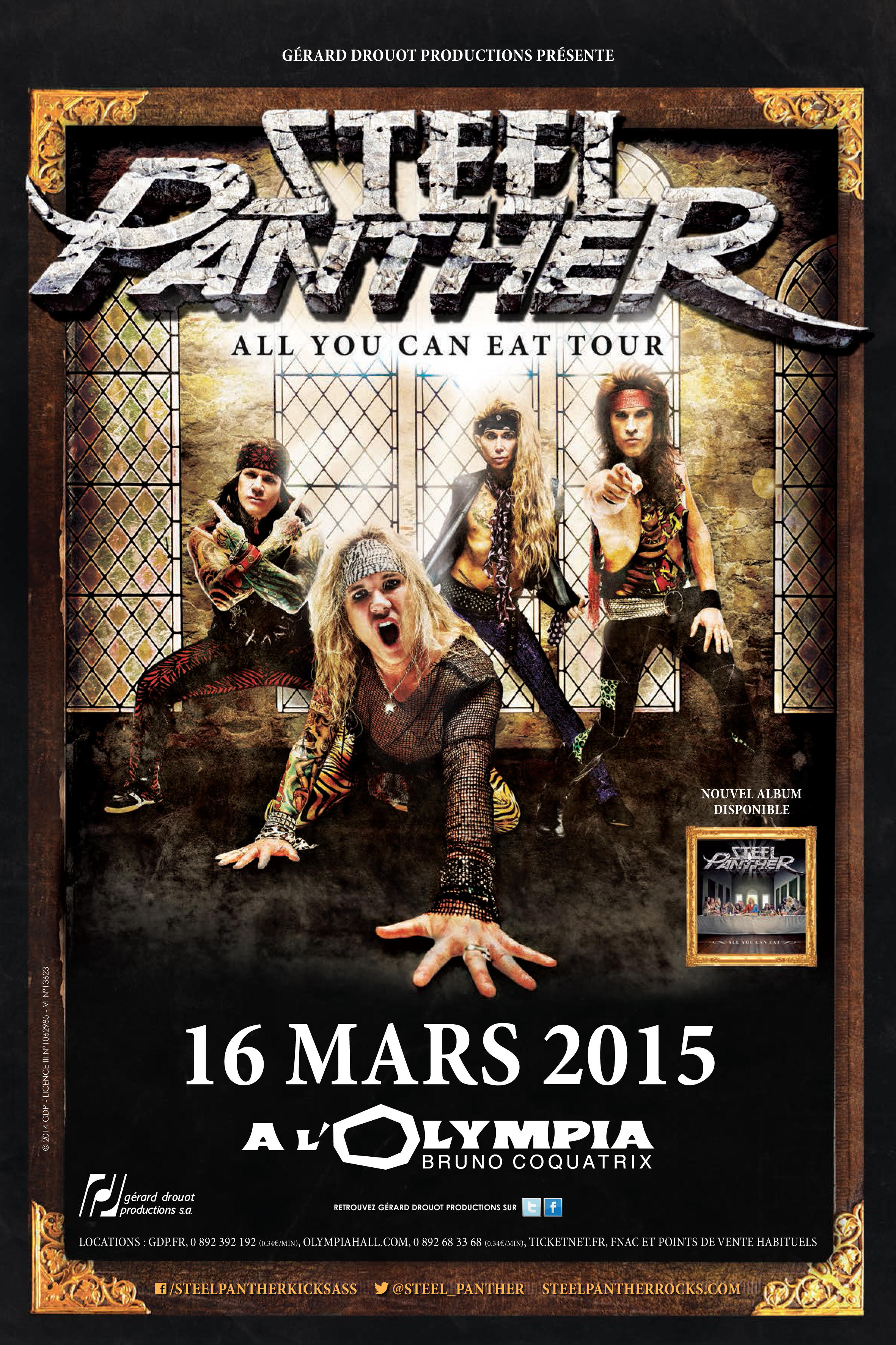 steel panther concert olympia