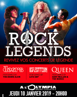 Rock Legends en concert à L'Olympia
