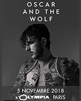 Oscar and The Wolf en concert à L'Olympia